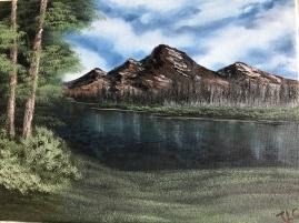 Quiet Mountain Lake 19