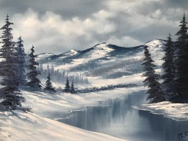 Blue Winter 2110