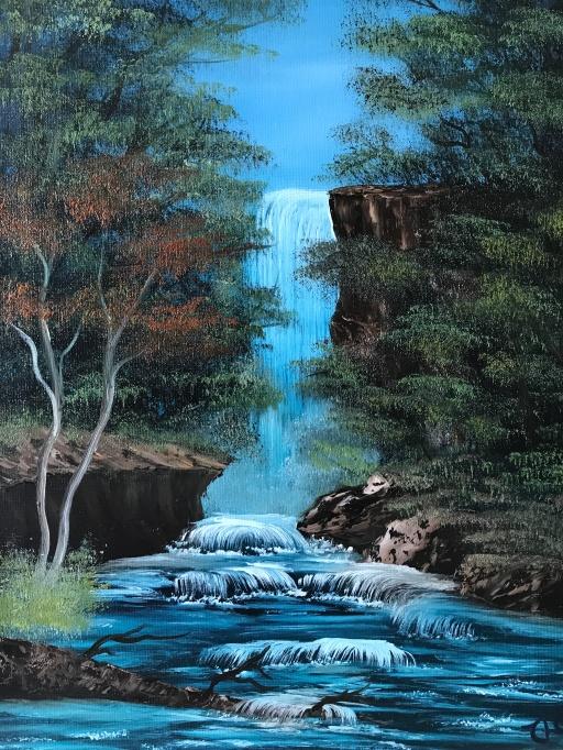 Graceful Waterfall 2408
