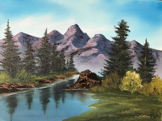 Purple Mountain Range