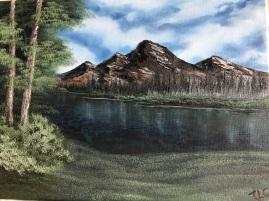 Quiet Mountain Lake 1902