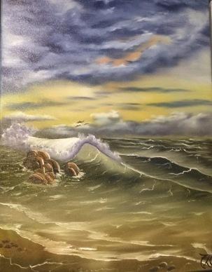 1704 Stormy Seas