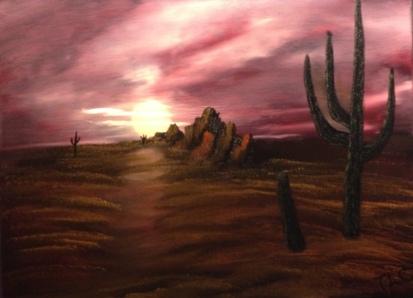 810 Cactus at Sunset