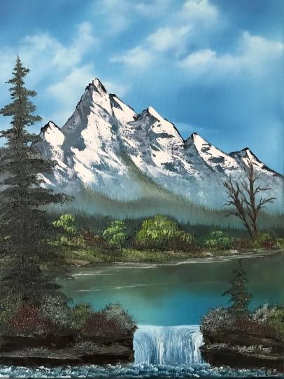 2906 Mountain Lake Falls