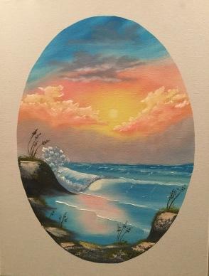 2211 Pastel Seascape