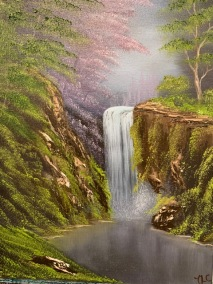 Waterfall in the Woods( diff color)